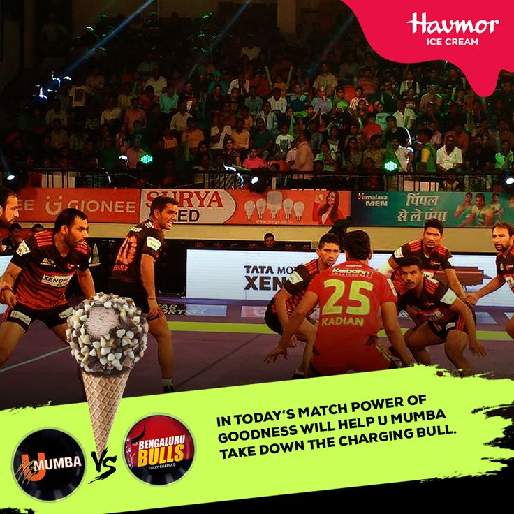 After a hard-earned victory in their previous match against Bengaluru Bulls, U Mumba, charged with the #Goodness of #Havmor, is going to take them for a rough ride.