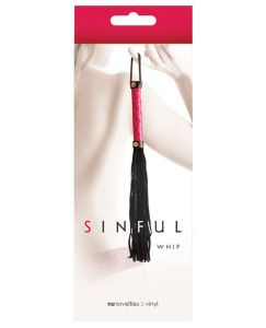 What Is A Flogger Ns Novelties Sinful Whip Pink