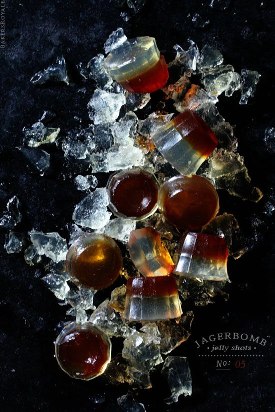 Jagerbomb Jelly Shot from Bakes Royale
