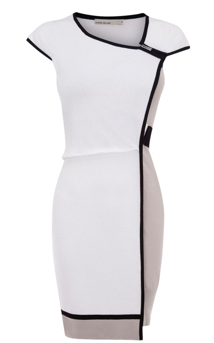 2015 Spring Fashion Trend | Black & White Dress