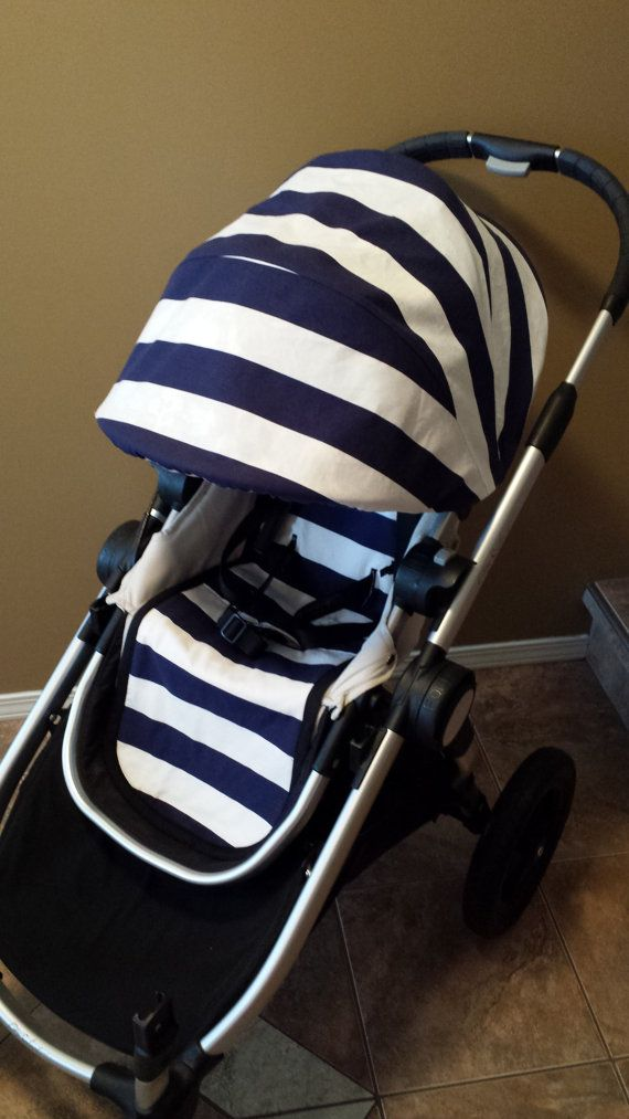 city select canopy cover and stroller seat liner by bubbaandblue, $100.00