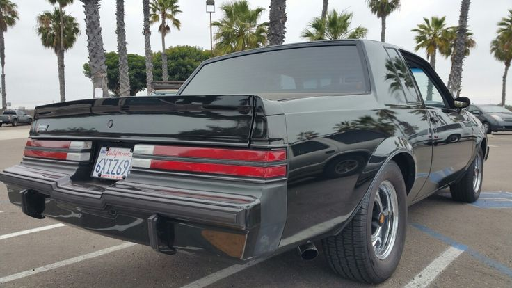 1987 Buick grand National 52k original miles for sale