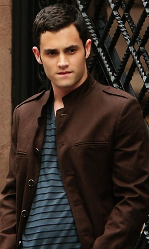Cole Haan Wool/Cashmere-Blend Coat inspired by Dan Humphrey in Gossip Girl | TheTake.com