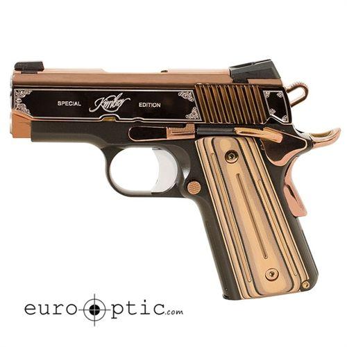 Kimber Rose Gold Ultra II 9mm Pistol 3200372 For Sale! Call (570) 368-3920 or visit EuroOptic.com