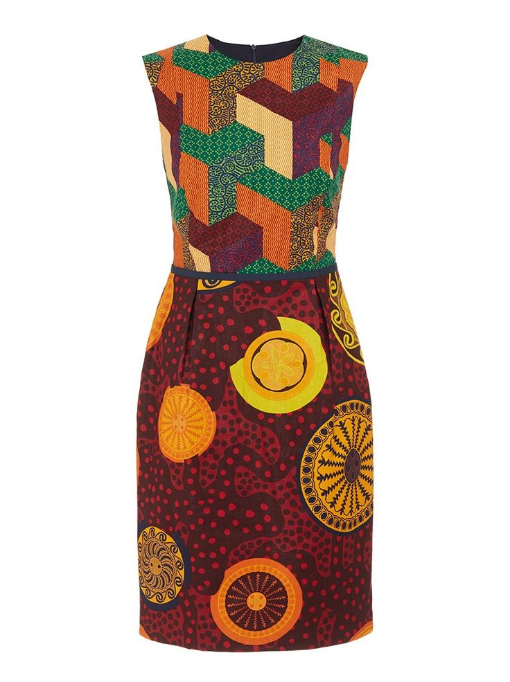 Gugu dress Multi-colour