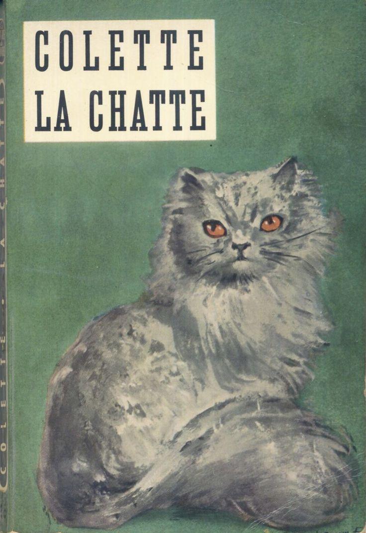Leonor Fini - Colette, La Chatte, Le Livre de Poche n° 96, 1963 broché illustré