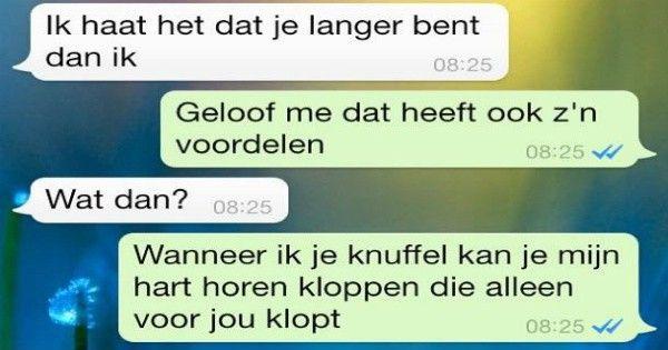 10 Romantische WhatsApp Gesprekken
