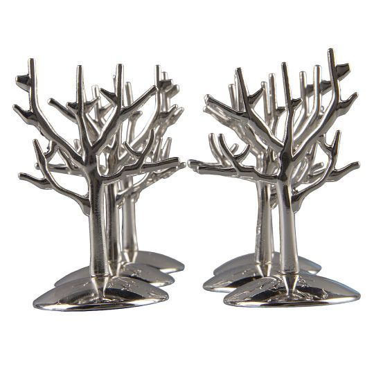 <div>Add a creative touch to your special occasion! These contemporary place card holders are a ...