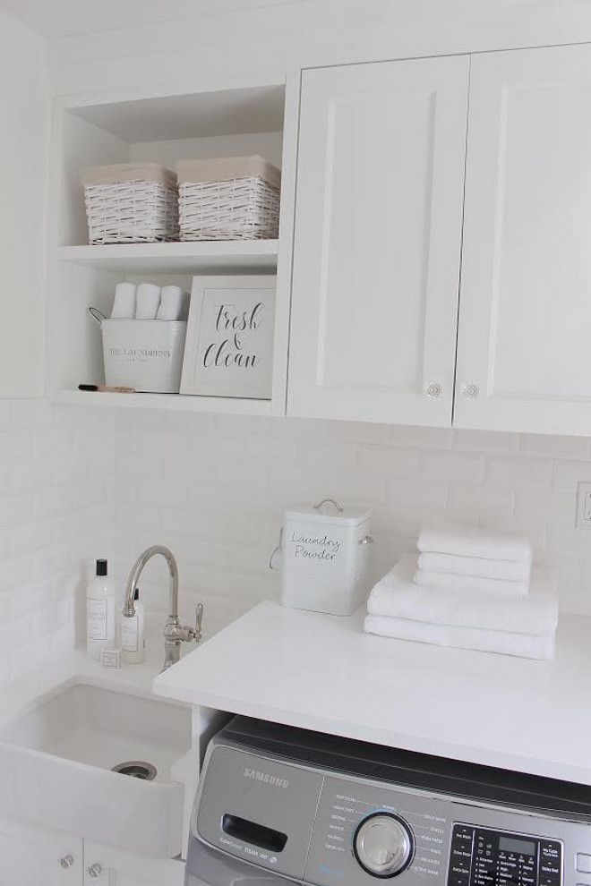 Laundry room farmhouse sink laundry room farmhouse sink JShomedesign via…
