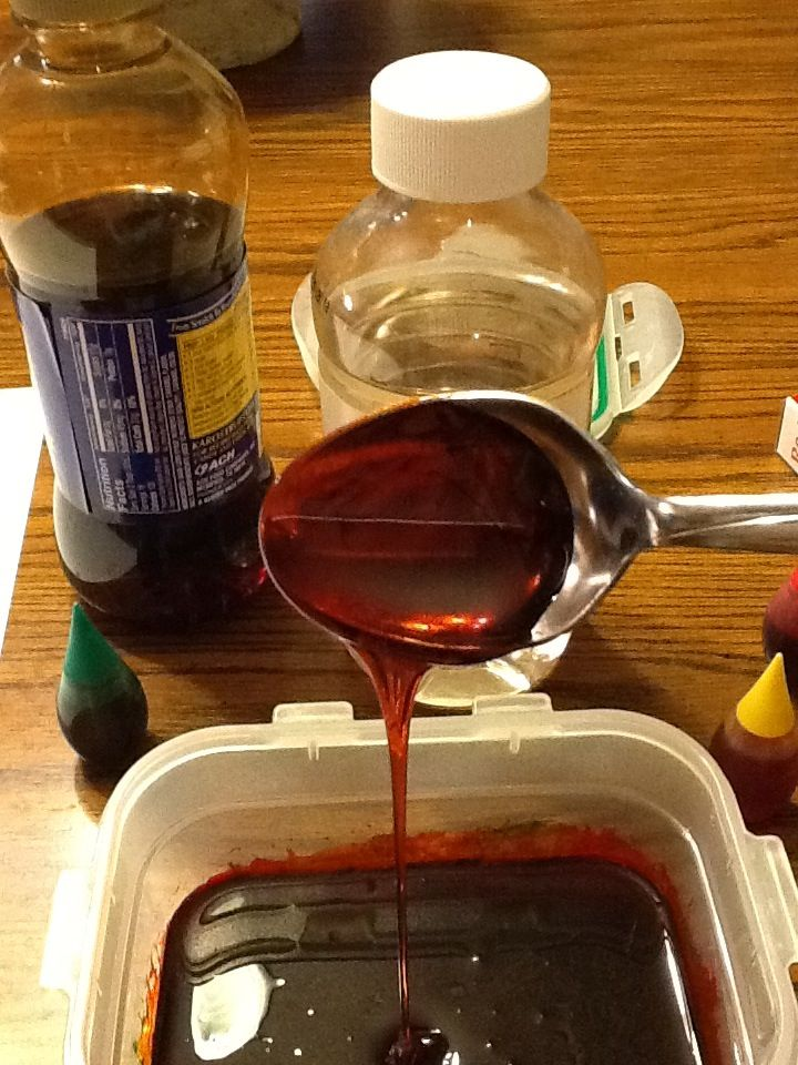 How to make FX Makeup Blood... I know it seems gross, but I'm sure I will use this someday...