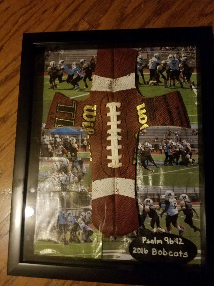 Coach gift football cross football coach gifts senior
