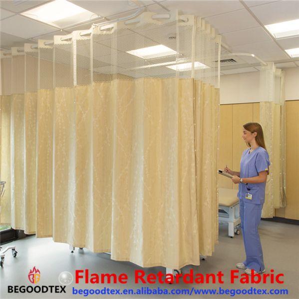 Hospital Medical Equipmrnt Fireproof Curtain Of China Supplier Curtains Hospital Curtains Curtain Designs