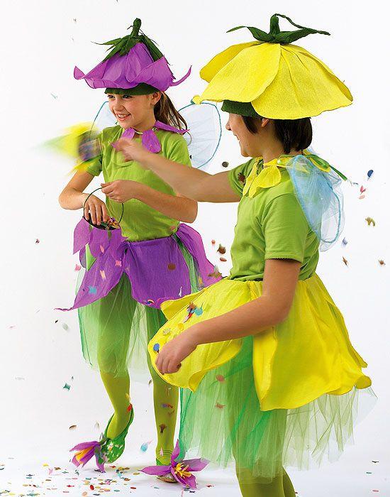 Step by step le istruzioni per realizzare teneri vestiti da principesse dei fiori