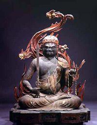 高野山霊宝館収蔵 不動明王坐像 一躯                                                                                                                                                     もっと見る