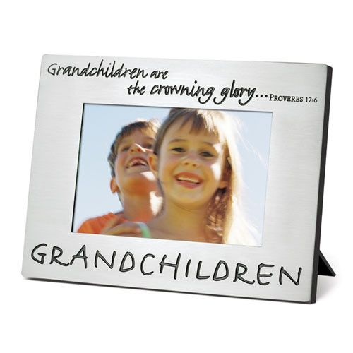 christian picture frame for grandchildren grandchildren are photo frame 2400 item 17004 materials