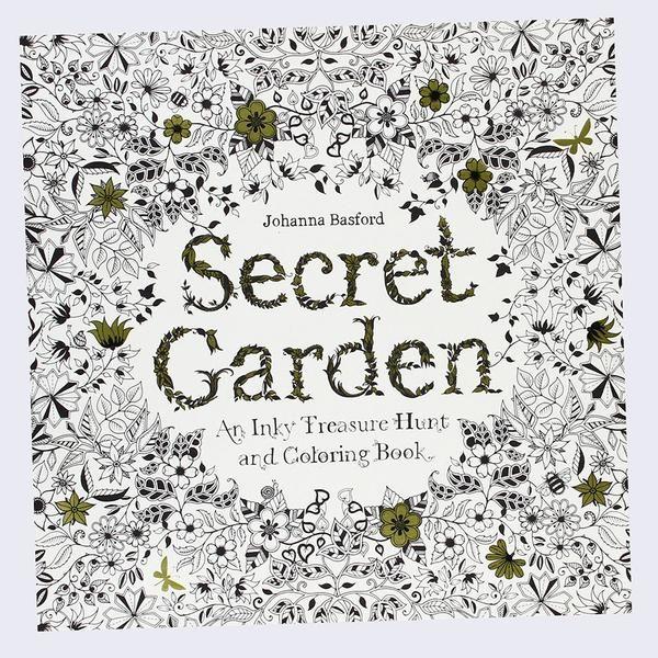 Johanna Basford - Secret Garden: An Inky Treasure Hunt and Coloring Book