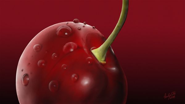 Cherry on Behance
