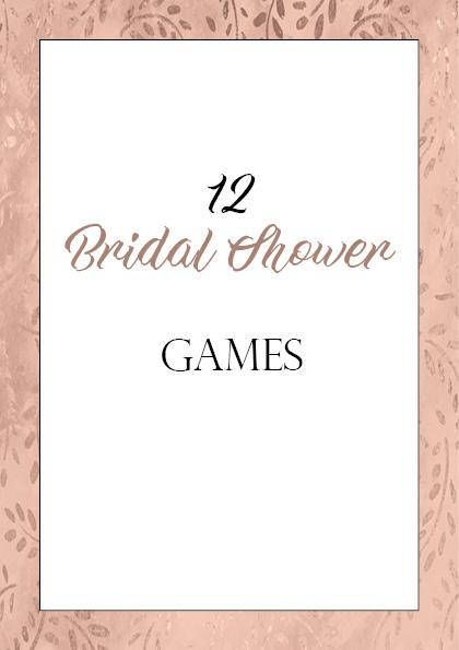 12 Rose Gold Bachelorette Party Games Printable Game Bridal Shower Hens Night This Or