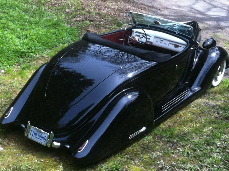1936 FORD ROADSTER  Inspired by the Harry Westergard 1940's styled roadsters John St Germain set out to built his own personal version of the perfect 1936 Ford all steel Roadster. The car is now For Sale at a Reduced Price. After creating a few custom cars in the past using 1950's cars, John …