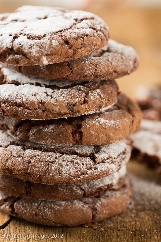 Chocolade kreukel koekjes