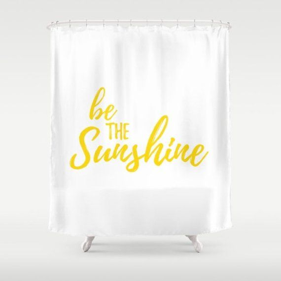 Sunshine Home Decor White And Yellow Sunny Bathroom Be The