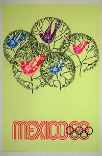 Olympic Poster: Mexico - Olympic poster , Country: Other , Artist:
