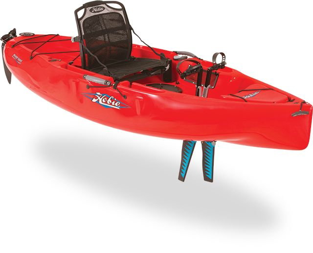 Wherever I like in this gorgeous Hobie Mirage Sport pedal kayak!