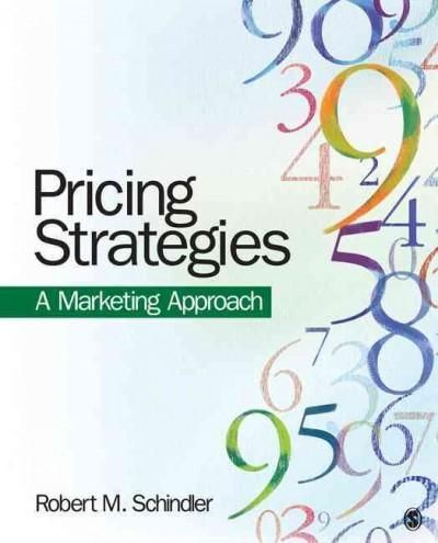 Pricing Strategies: A Marketing Approach