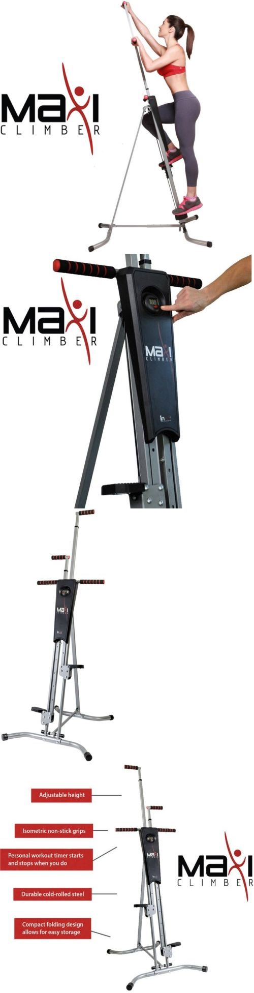 Stair Machines and Steppers 28062: Maxiclimber Total Body Workout Fitness Exercise Training Equipment Vertical Step -> BUY IT NOW ONLY: $299.99 on eBay!