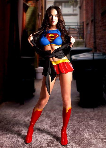 My all time favorite Megan Fox photo! Comic Geek Style!