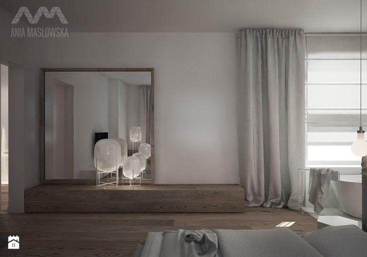 Sypialnia styl Minimalistyczny Sypialnia - zdjęcie od Ania Masłowska