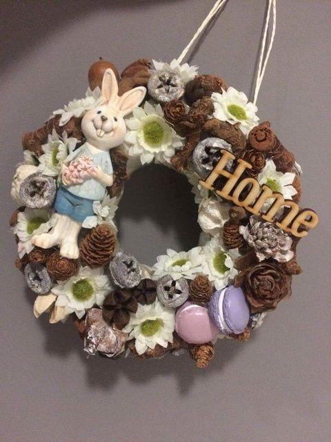 Húsvéti-Tavaszi ajtódísz (Myhomedecor) - Meska.hu