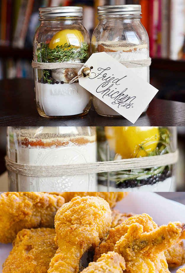 Fried Chicken Kit   24 Delicious Food Gifts That Will Make Everyone Love You