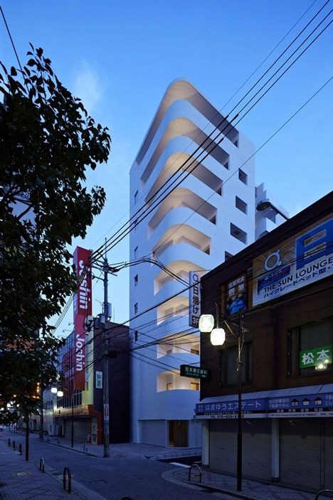 Step Tower by EASTERN Design Office