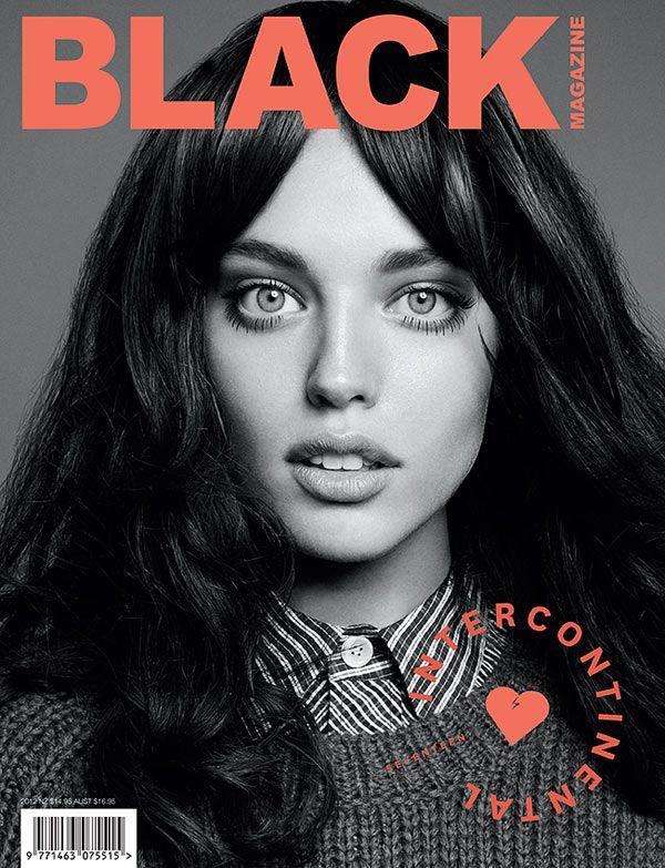 Black Magazines F/W 2012 Cover shoot by Derek Kettela