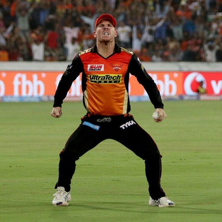 PsBattle: Australian cricketer David Warner exults after taking a catch