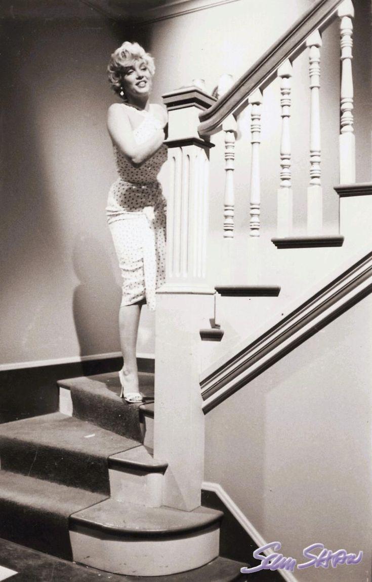 Sur le tournage de The Seven Year Itch 1 - Divine Marilyn ...