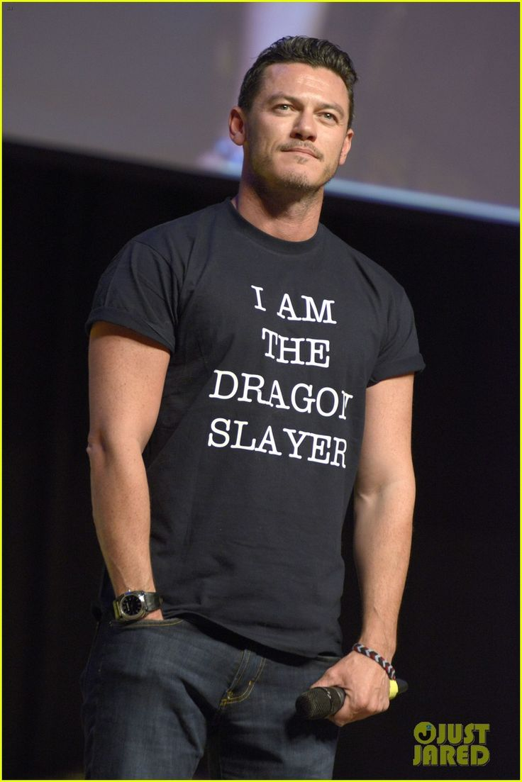 Luke Evans Is The Dragon Slayer in Germany for HobbitCon 3!