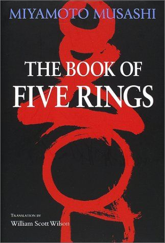 The Book of Five Rings (五輪書 Go Rin No Sho) is a text on kenjutsu and the martial arts in general, written by Miyamoto Musashi circa 1645.