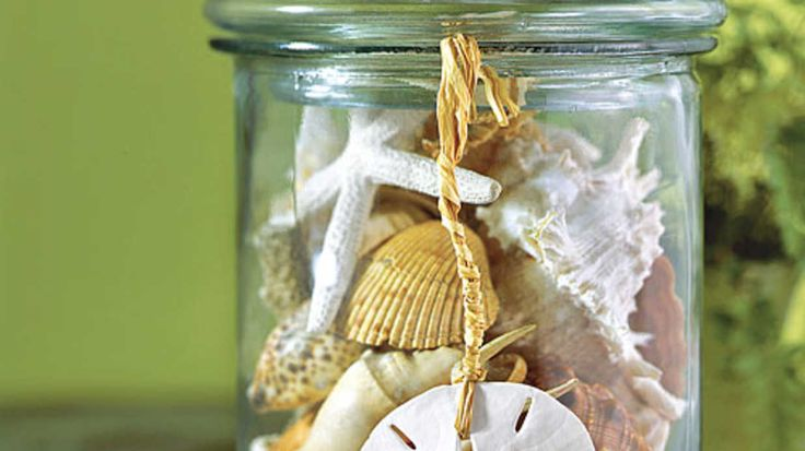 Turn the seashells collected from your beach vacation into fun crafts ideas. Find beautiful ways to decorate your home with shells.