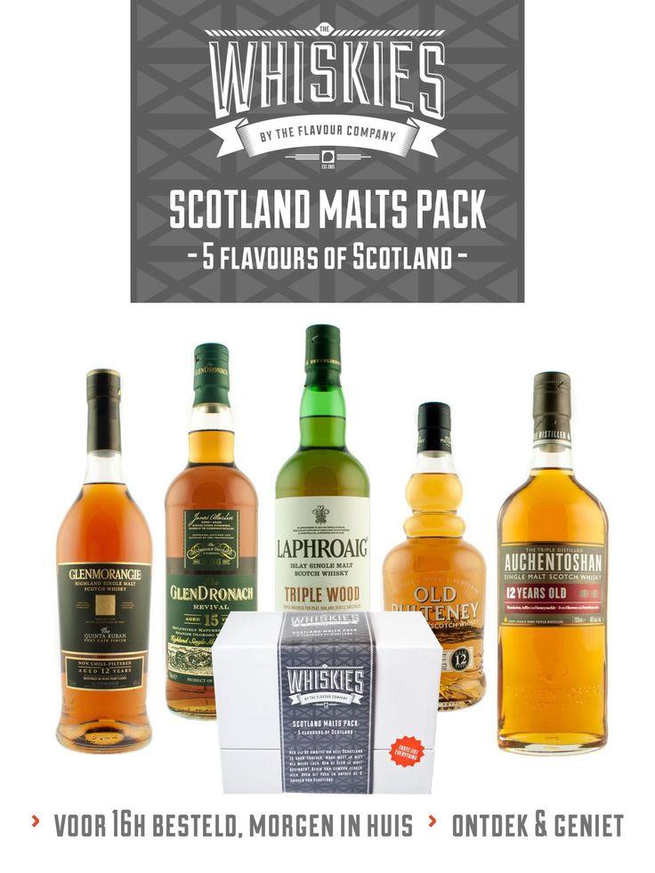 Whisky - Scotland Malt pack