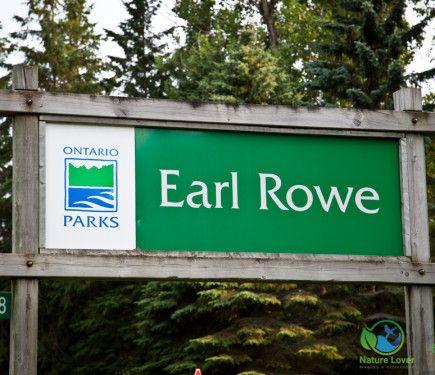 Earl Rowe Provincial Park Review