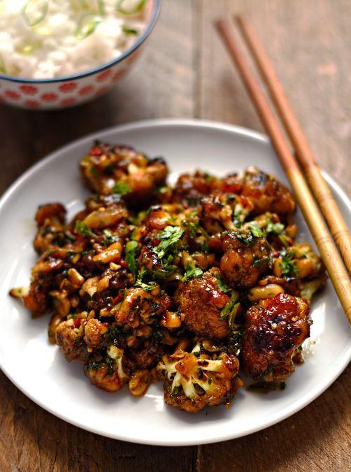 *Kung Pao Cauliflower...