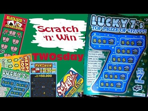 Scratch n Win Twosday Lucky 7s - YouTube