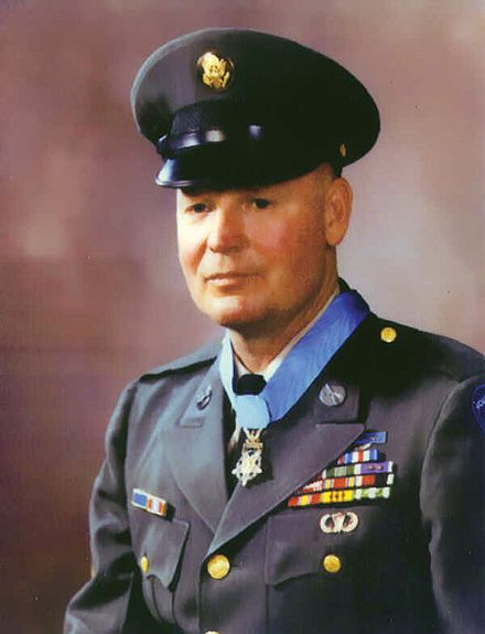 Valor awards for SFC Finnis Dawson McCleery (1927-2002) US Army. Medal of Honor for conspicuous gallantry and intrepidity at the risk of his life above and beyond the call of duty, in action against enemy aggressor forces at Quang Tin Province, Republic of Vietnam, on 14 May 1968. Silver Star for gallantry in action against a hostile force on 8 February 1968. Bronze Star with Valor Device, Purple Heart with two Oak Leaf Clusters.
