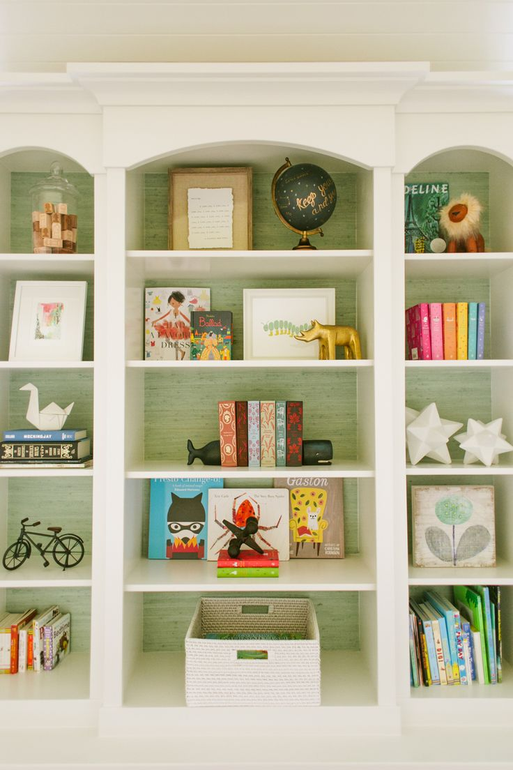Nicely styled bookcase. Riverside Residence - Hallway Library – Shop House of Jade