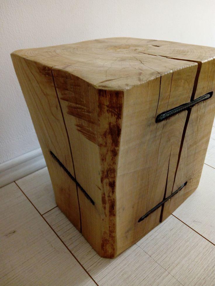 stool cherry wood