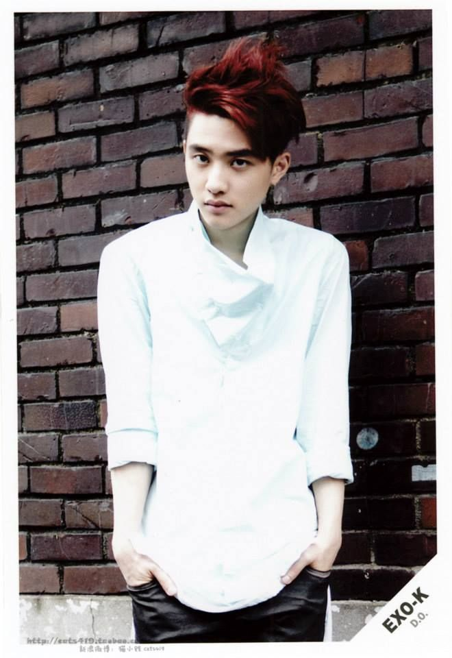 Kyungsoo Wolf Photoshoot Scans of the EX...