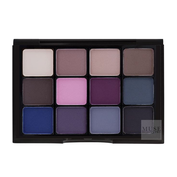 Shop Viseart Eyeshadow Palette:07 Cool Matte | Professional Eye Makeup | Muse Beauty.Pro