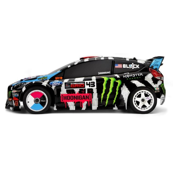 HPI KEN BLOCK 2014 FORD FIESTA ST RX43 WR8 FLUX 1/8th SCALE 4WD RALLY - RC BIL